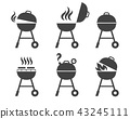 barbeque, grill, bbq 43245111