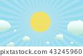 광선, 햇빛, 햇살 43245960