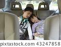 孩子们骑车 43247858