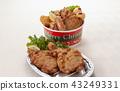 프라이드 치킨 플래터 43249331