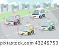self driving car concept 43249753