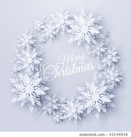 Vector Christmas and new year holidays background 43249938