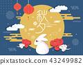 happy Mid Autumn Festival 43249982