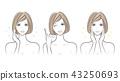 female, lady, woman 43250693