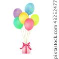 氣球 汽球 禮物 43252477
