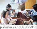 IT教育的课堂场面 43255913