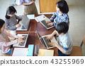 小学IT教育课风景 43255969