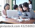 小学IT教育课风景 43256063