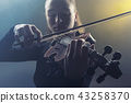 violin, woman, musician 43258370