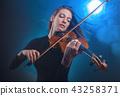 바이올린, 여자, 여성 43258371