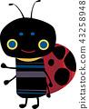 可愛的瓢蟲 43258948