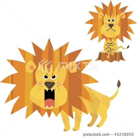 怪物之王,獅子 43258950