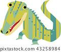 鱷魚 爬行動物 爬蟲類的 43258984