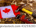 canada canadian flag labor day hammer 43259283