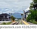 고 우미 선 다쓰 오카 성 역에서 아사 마산 방면 희망 43262493
