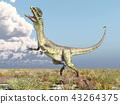 Dinosaur Dilophosaurus 43264375