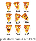 pizza food character 43264978