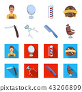 Hairdresser, icon, set 43266899