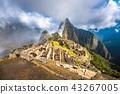 Machu Picchu, UNESCO World Heritage Site.  43267005