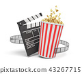 movie, popcorn, cinema 43267715
