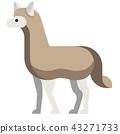 Alpaca flat illustration 43271733