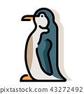 penguin, bird, animal 43272492