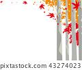 벡터, 단풍, 숲 43274023