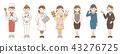 女性 職業 セット 43276725