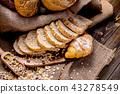Still life photo of bread and bakery 43278549