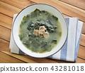 韓國食品牛肉海藻湯 43281018