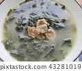 韓國食品牛肉海藻湯 43281019