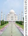 북부 인도 아그라 세계 유산 타지 마할 43283195