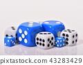 게임, 주사위, 뼈 43283429