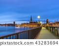 stockholm, sweden, skyline 43283694