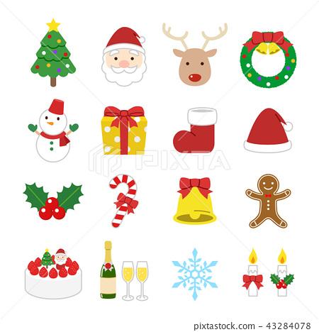 聖誕節圖標 43284078