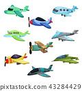 plane, aircraft, biplane 43284429