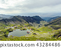 mountain, romania, hill 43284486