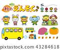 동물, 도시락, 버스 43284618
