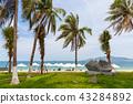 Nha Trang beach, Vietnam 43284892