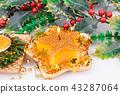 Christmas candle 43287064