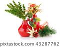 Christmas decoration 43287762