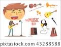 歌手 玩 演奏 43288588
