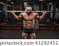 健美运动者 健身房 男性 43292452