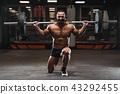 锻炼 健美运动者 健身房 43292455