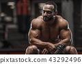 健美运动者 健身 男性 43292496