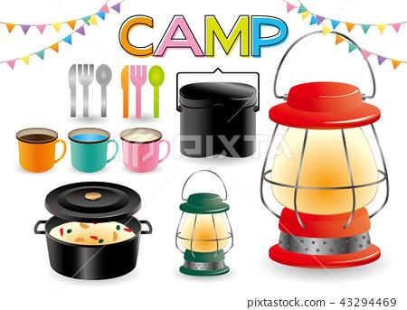 캠핑 장비 43294469