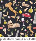 italy italian pattern 43294500