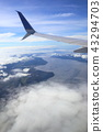 alaska, aerial photography, aerial shot 43294703