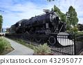 Landscape of Anchorage, Alaska, USA Train Engine 556 43295077