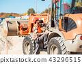 wheel, loader, construction 43296515
